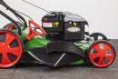 BRILL Benzinrasenmäher Modell STEELINE Quattro 52 XL R 6.0 – B&S Motor- mit Fahrantrieb, serienmäßig mit Mulching Kit 4 in 1